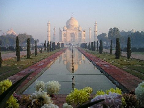 The Taj Mahal in Agra is India's most famous tourist attraction