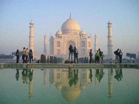 The Taj Mahal is in Agra