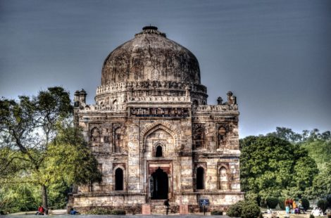 Shisha Gumbad in Lodhi Gardens, New Delhi
