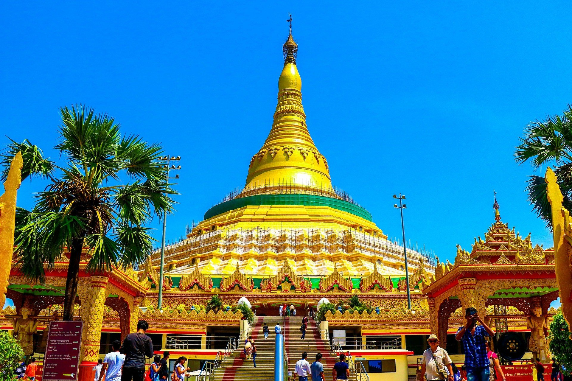 Global Vipassana Pagoda in Mumbai
