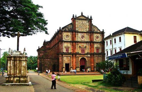 Basilica of Bom Jesus in Goa