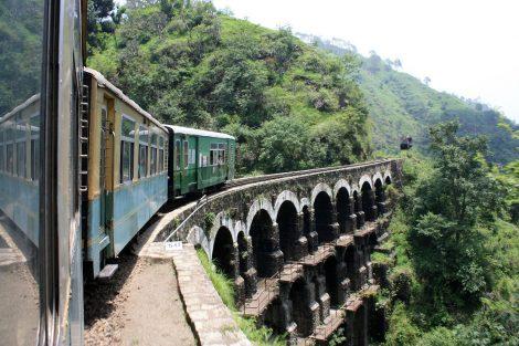 Kalka to Shimla Railway Line
