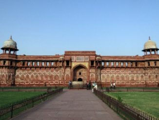 Agra Fort is the city's second most popular attraction