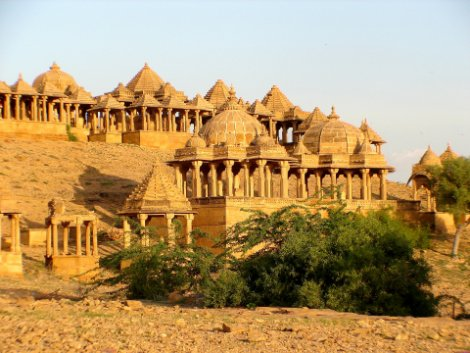 Bara Bagh Temple in Jaisalmer