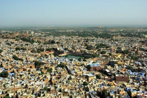 View across Jodhpur City